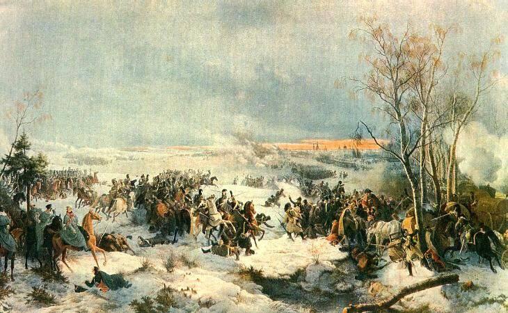 Batalla de Red 3 - 6 (15 - 18) Noviembre 1812