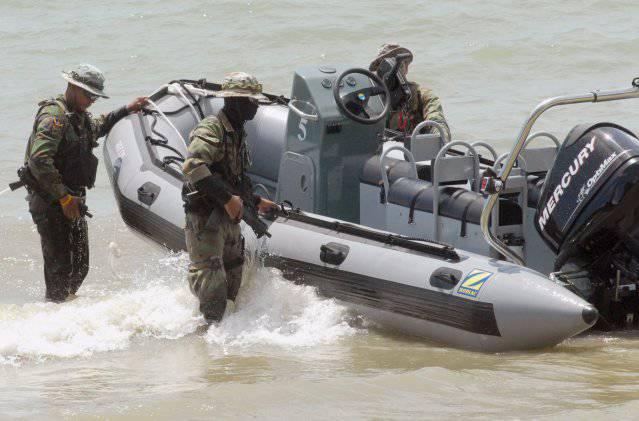 Especialistas em Forças Especiais da Marinha Tailandesa - Melhores do Sudeste Asiático