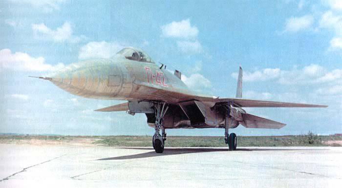 Aviones de registro П-42
