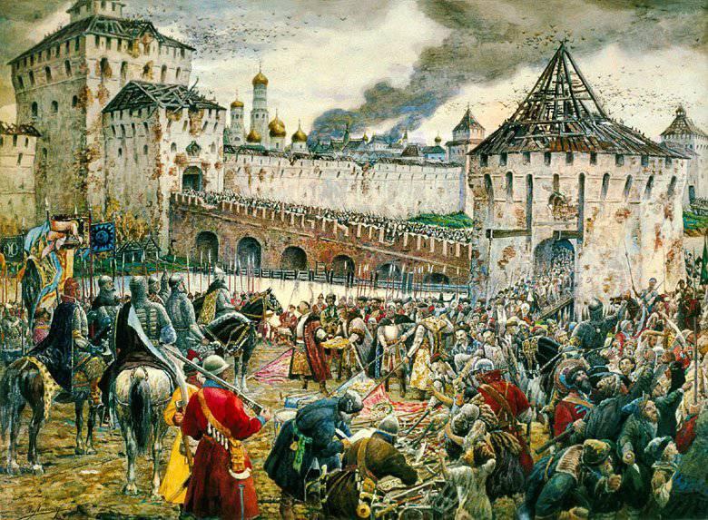 O triste fim das tropas polonesas em Moscou