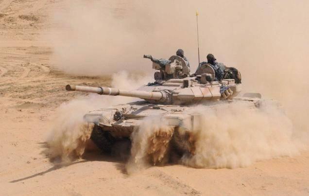 Mais poder para o indiano T-90
