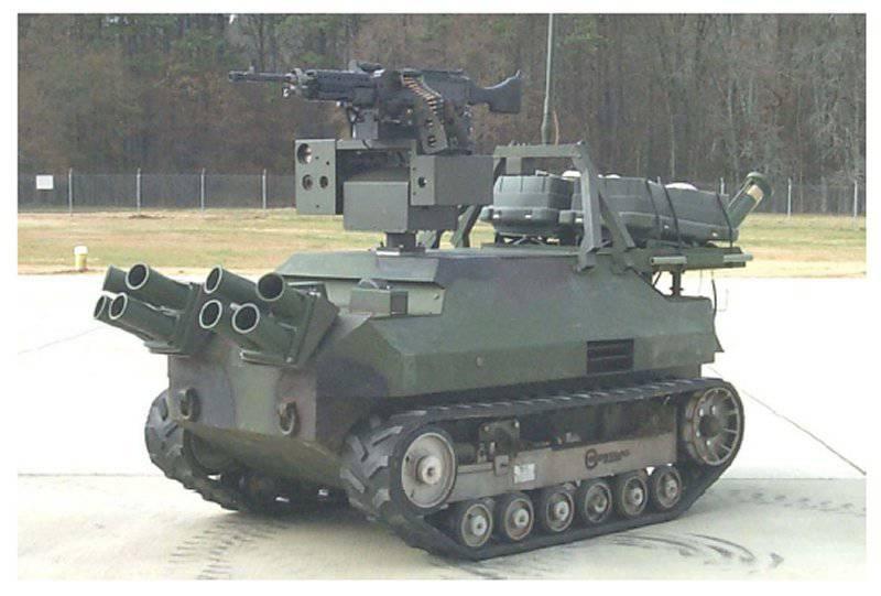 Um pouco sobre robôs de combate americanos