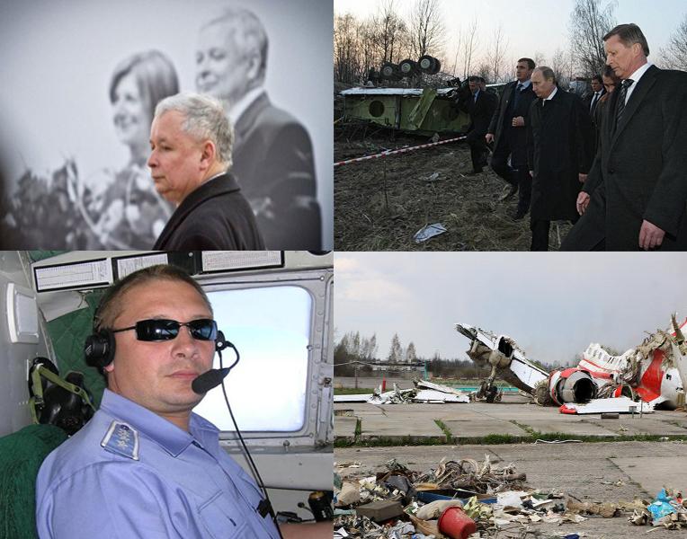 Conspiração política em torno do acidente perto de Smolensk