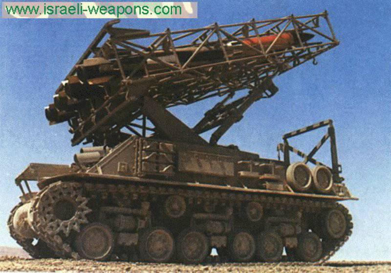 イスラエルはMLRS「エピスコピ」を追跡しましたMAR-290(1970-80)