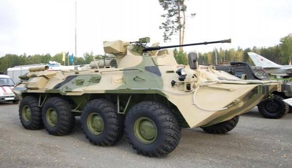 アルザマスからの装甲ミステリー、またはBTR-82AMのまわりの虚栄心