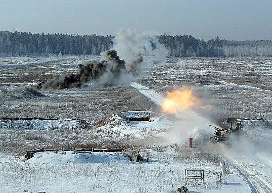 Mais de 20 milhões de vários tipos de munição gastos durante o planejado tiroteio de combate do Exército de Armas Combinadas de Samara em 2012.