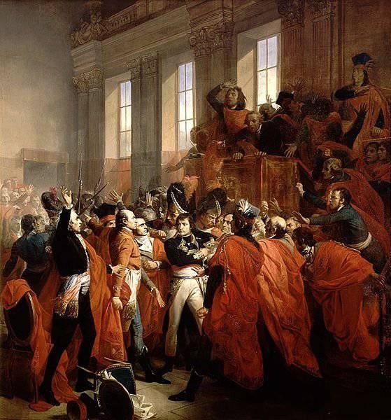 El fin de la revolución francesa.