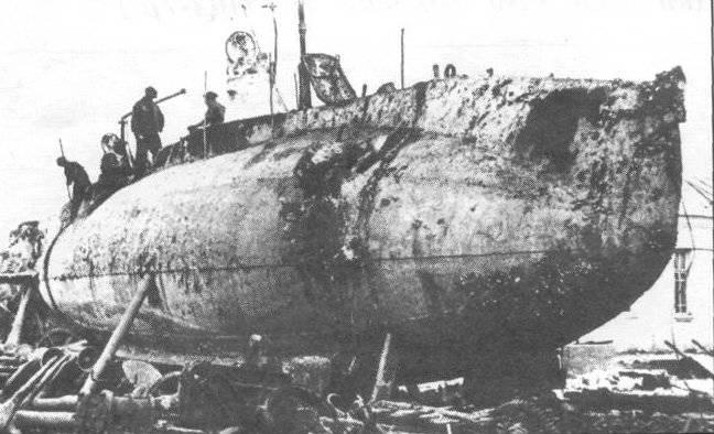 Подводная лодка судак типа сом