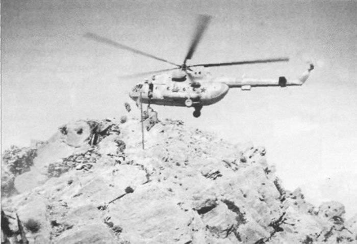 Вертолёты Афгана. Трудяга Ми-8 «Восьмерка»