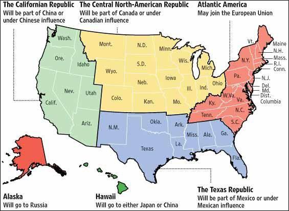 Марш конфедератов, или Разделённые Штаты Америки