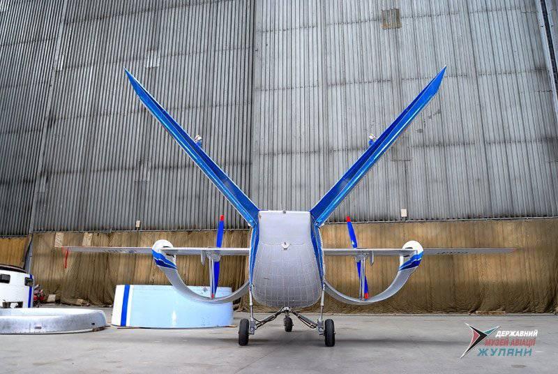 Он мог бы стать Ан-181 – экспериментальный самолет с арочной конструкцией крыла