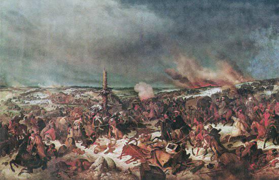 बेरेज़िना की लड़ाई 14 - 17 (26 - 29) नवंबर 1812