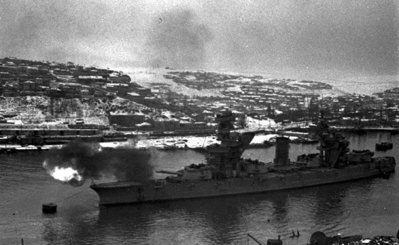 黒海艦隊の空襲作戦 3の一部