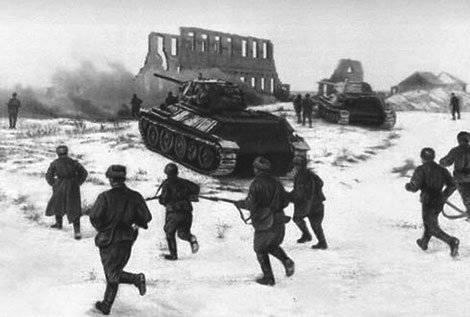 19 ноября 1942 г. началось контрнаступление советских войск под Сталинградом