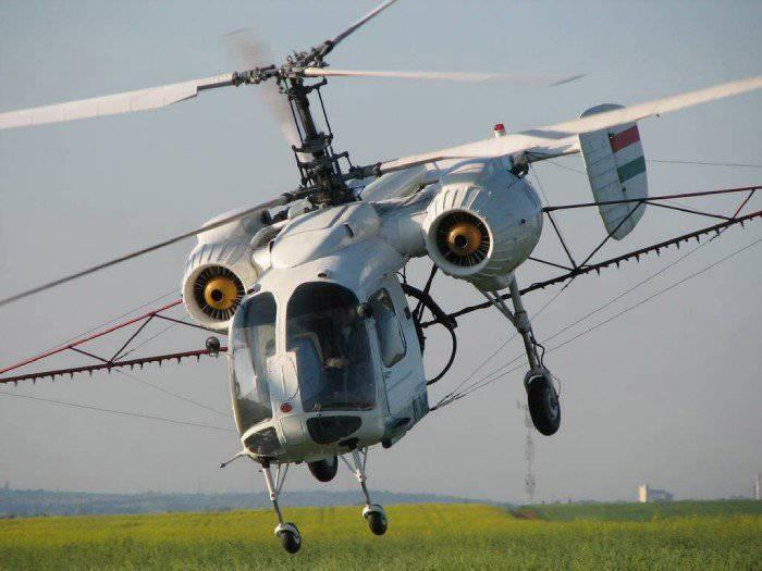 Ка-26 – вертолет, выполненный