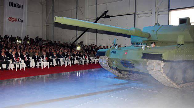 नए तुर्की MBT Altay की तस्वीरें