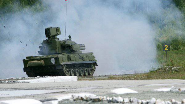 Motorized gunners of the Southern Military District received the first batch of Tunguska air defense