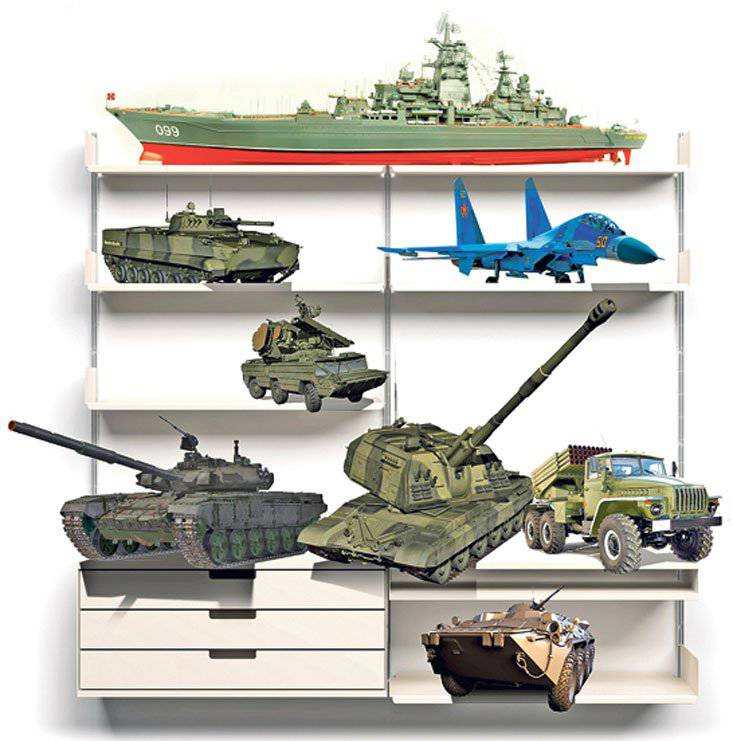 To the peculiarities of the modern Russian military-technical policy