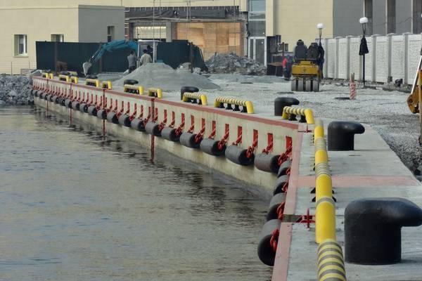 Reparación de amarres de la base de la Flota del Pacífico en Vladivostok (foto)