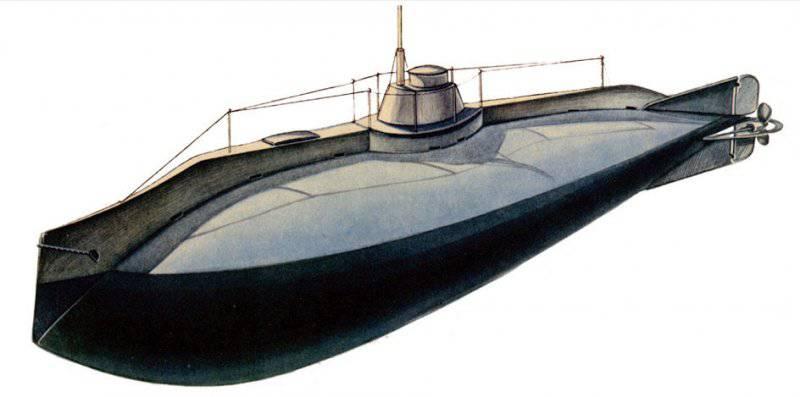 """Подводные лодки типа """"Сом"""""""