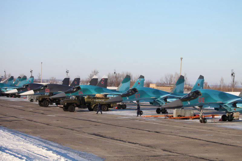Su-34由俄罗斯空军采用