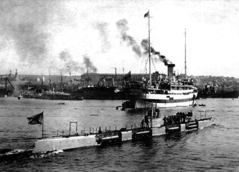 """Подводные лодки типа """"Морж"""""""