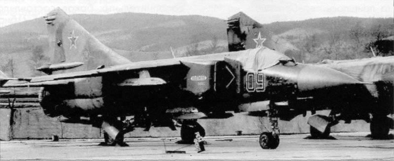 米格-23战斗机在阿富汗