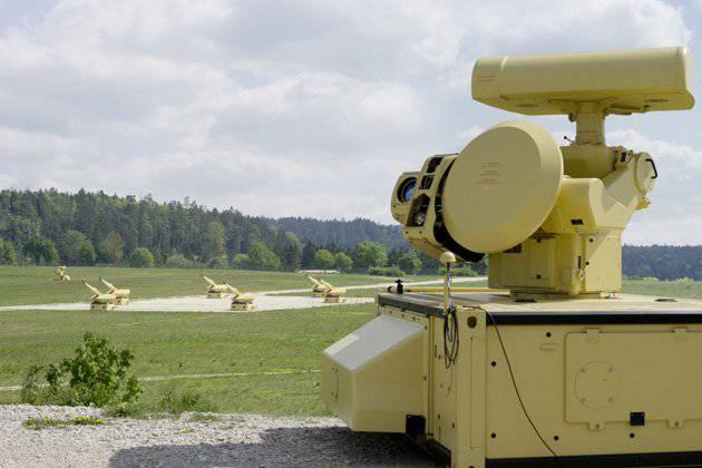Поступила на вооружение первая батарея ЗАК MANTIS