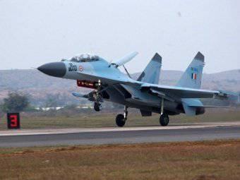Las fuerzas aéreas de la India continúan confiando en los aviones de combate Sukhoi