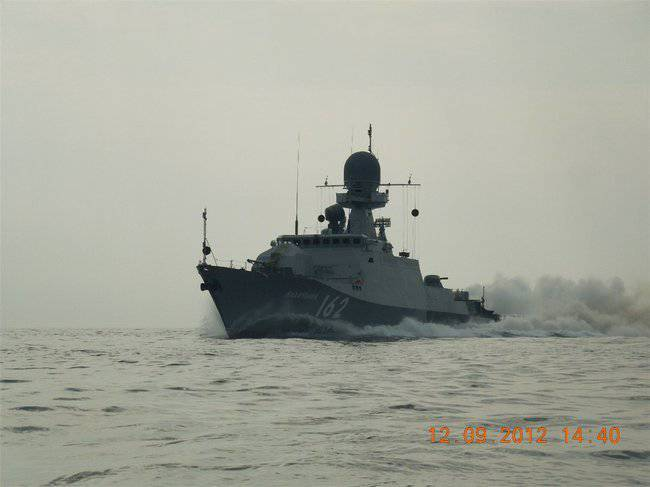 """IAC """"Makhachkala"""" adopted in the Russian Navy"""