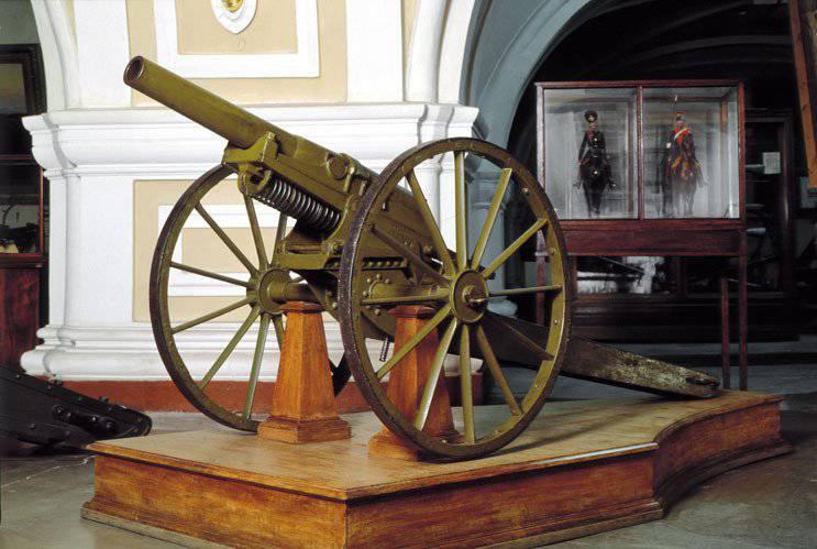 El genio de la artillería rusa - VS Baranovsky