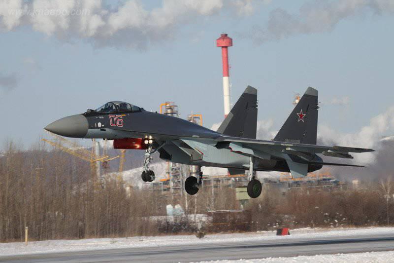तीन नए Su-35С तैयार हैं