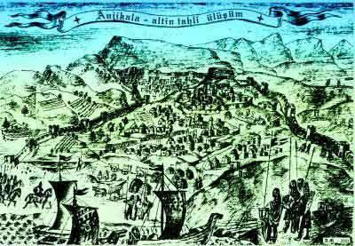 काकेशस के लिए लड़ाई। XVI का अंत - XVII सदियों