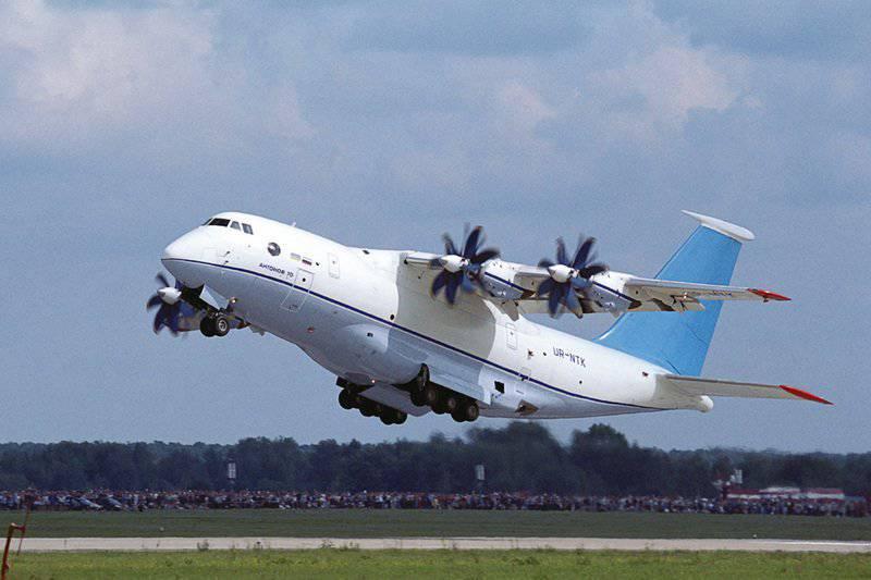 Volar o volar: problemas de coproducción An-70