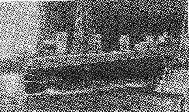 "Primera capa de la mina submarina del mundo ""Cangrejo"". Parte de 7. El final de la primera capa de la mina submarina ""Cangrejo"""