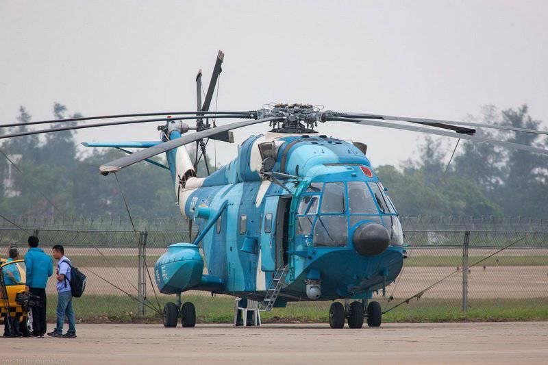 चांगहे जेड-एक्सएनयूएमएक्स - चीनी बहुउद्देशीय हेलीकाप्टर