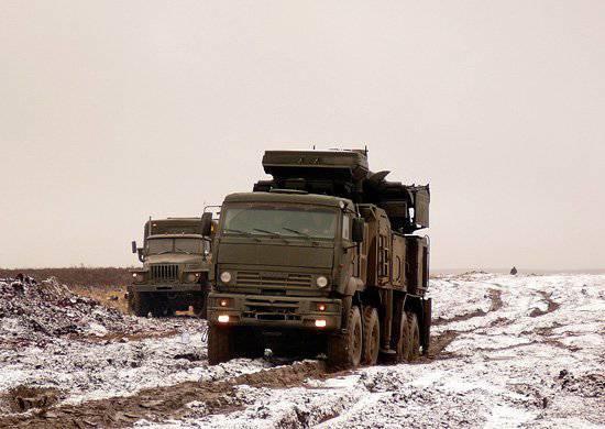 En 2012, las tropas del Distrito Militar del Este recibieron las últimas armas de defensa aérea.