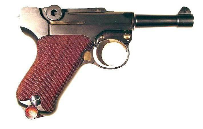 Arma desconocida de Georg Luger
