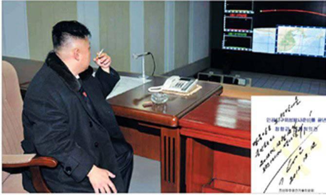 उत्तर कोरियाई उपग्रह को किसने डराया?