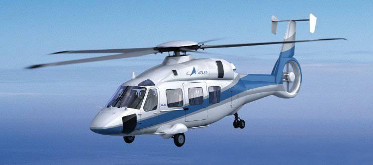 El primer contrato de exportación para helicópteros Ka-62.