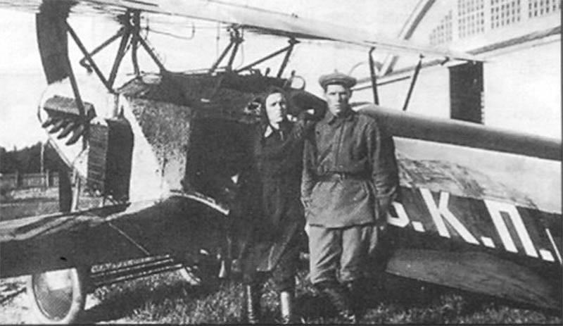 Из истории собственных наименовании воздушных судов России, 1918 - конец 1920 гг