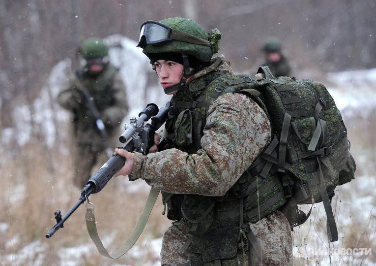 Российскую армию переоденут в