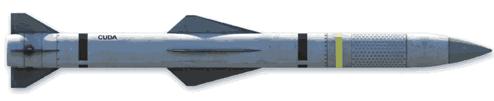 Perspectiva aire-aire CUDA misil guiado