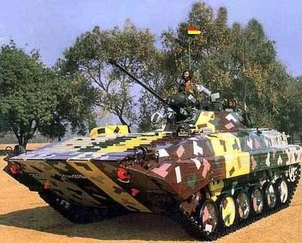 El mutante indio del BMP-2 y el camión es el X-NUMX blindado más curioso.