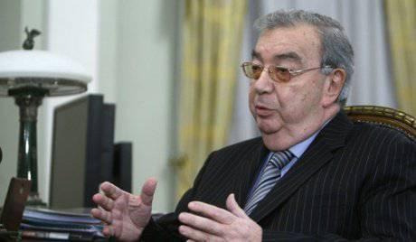 Yevgeny Primakov formuló una idea nacional