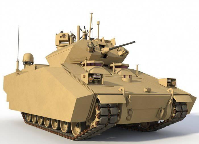 Los estadounidenses crean un motor híbrido BMP