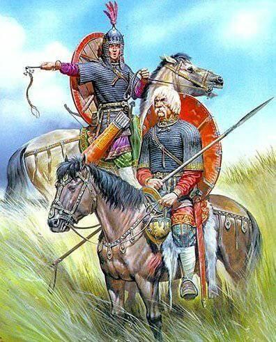 Давние казачьи предки