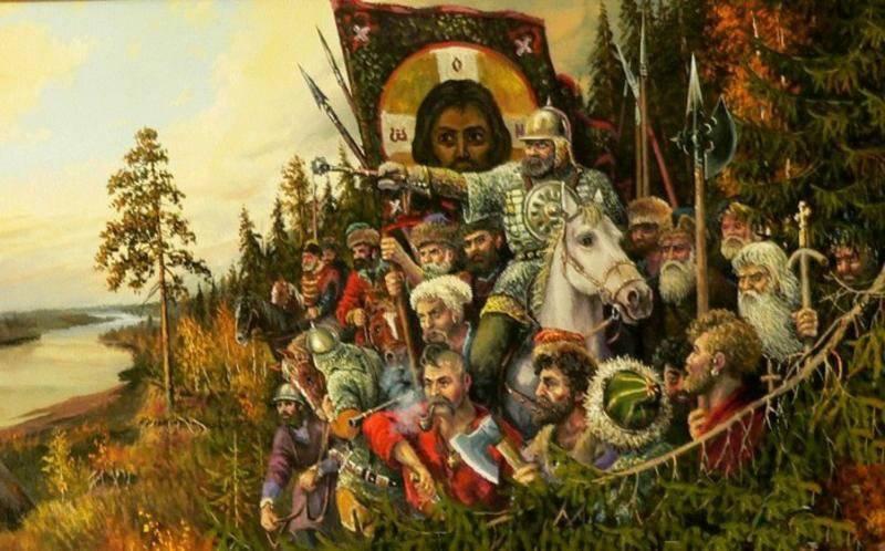 Antiguos ancestros cosacos