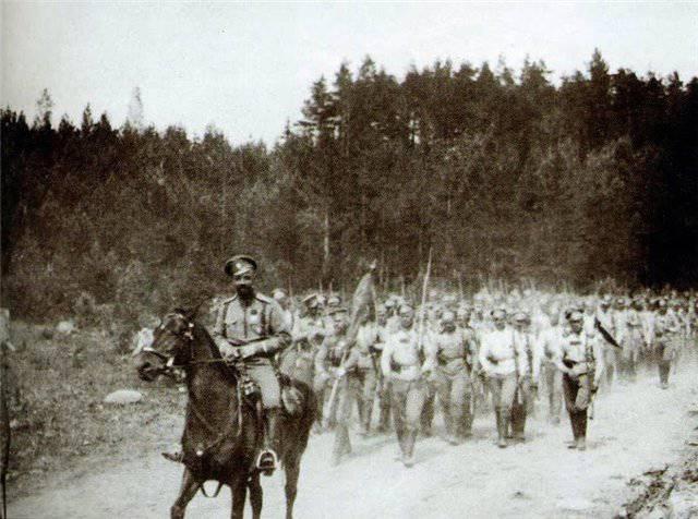 Primera Guerra Mundial, Frente Oriental, 1914-1917
