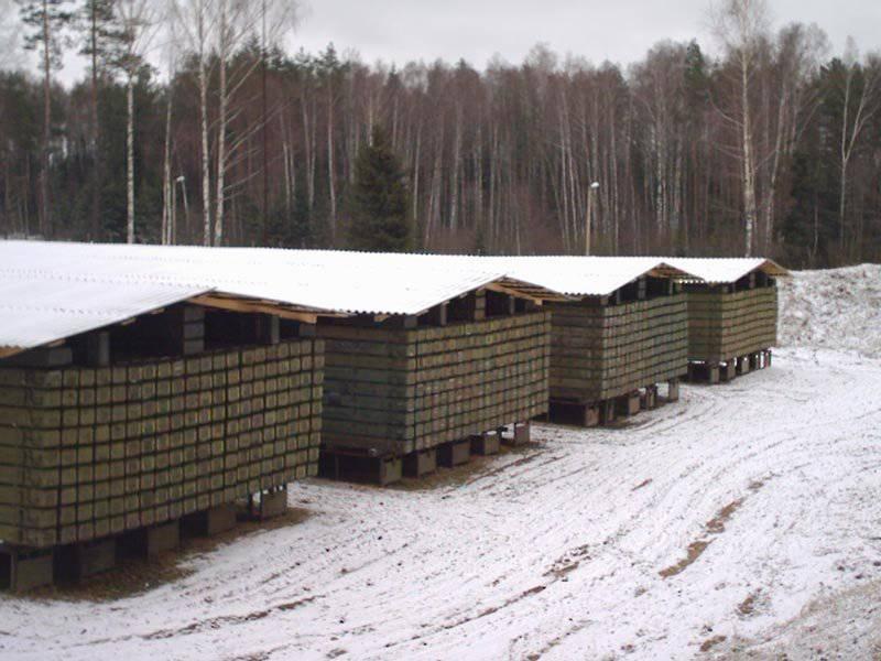 रूस हथियारों के लिए नए शस्त्रागार का निर्माण कर रहा है